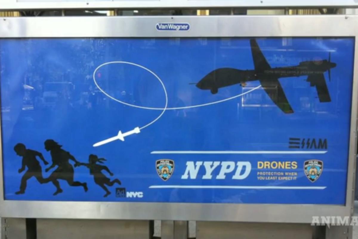 NYPD Drone ad