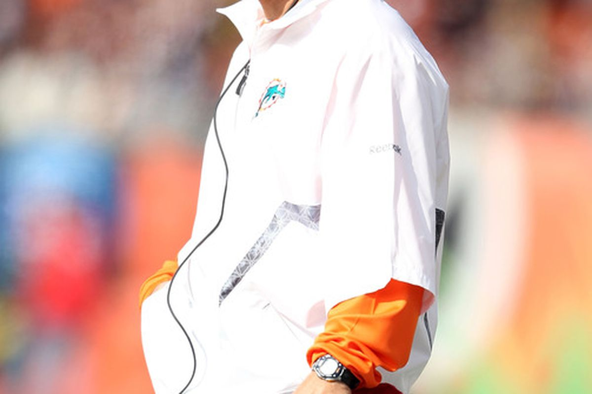 Is Tony Sparano in danger of losing his job?