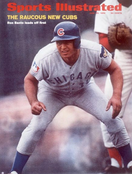 sports illustrated 1969 santo cover