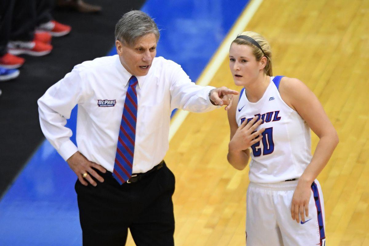 NCAA Womens Basketball: Notre Dame at DePaul