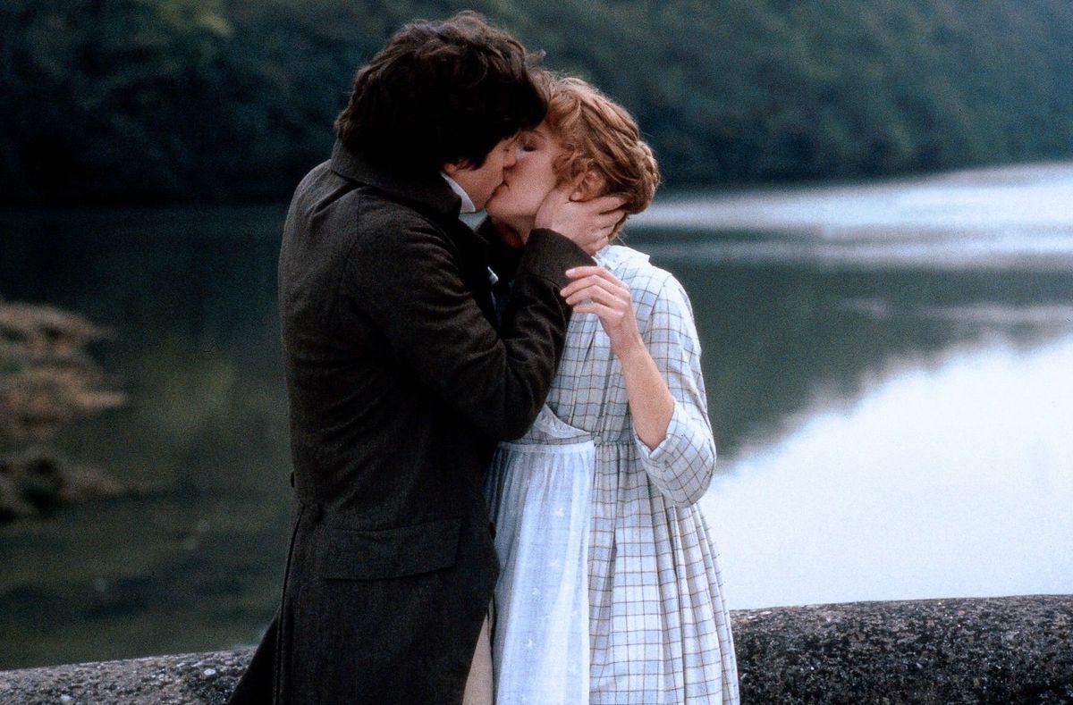 Emma Thompson and Hugh Grant in Sense and Sensibility