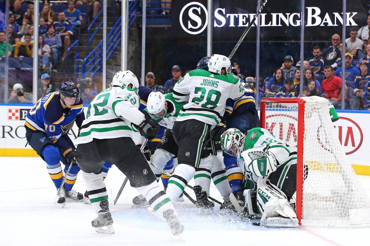 NHL: Preseason-Dallas Stars at St. Louis Blues