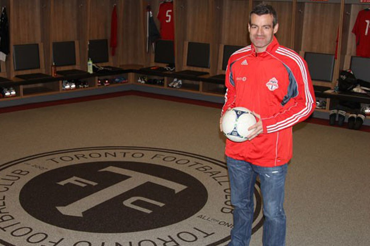 It'll be a while before Nelsen can make himself at home here.