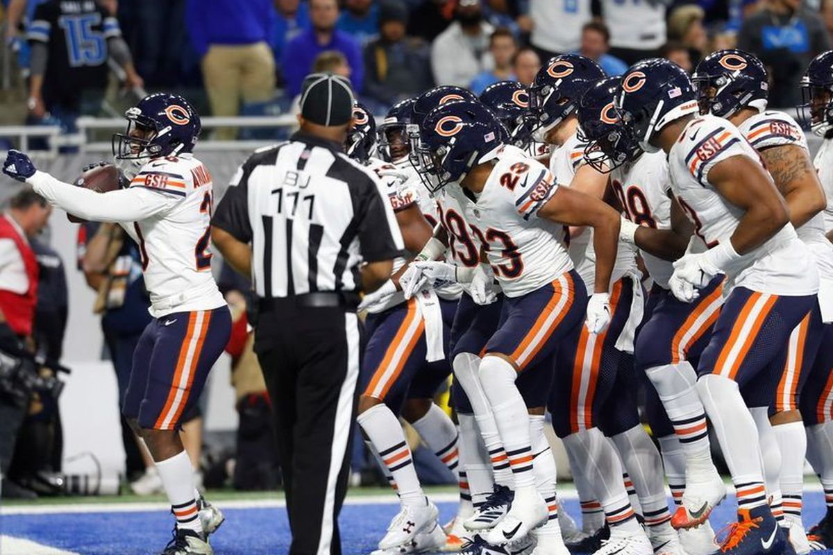 b2b6afef Chicago Bears celebrations: Ranking the best over eight wins ...