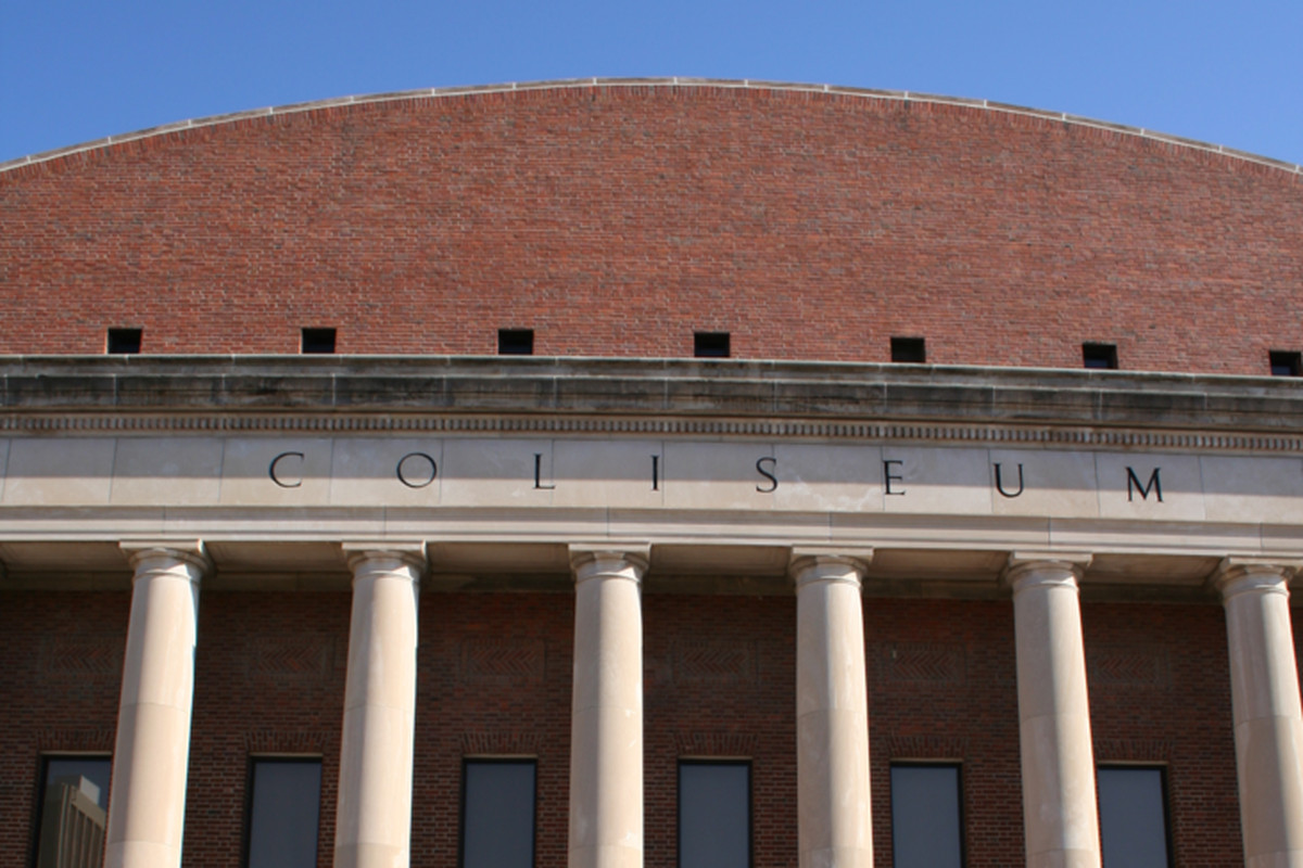 Coliseum - Home of Husker Volleyball