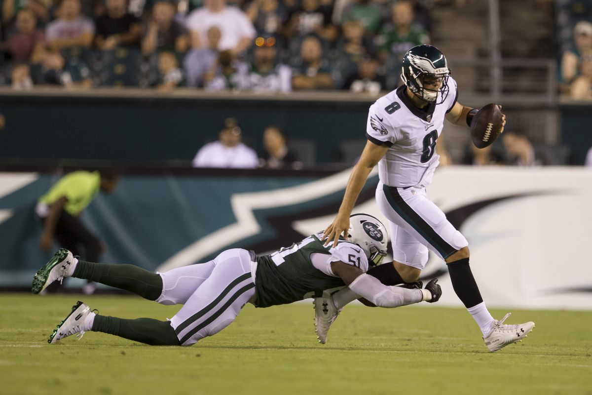8d779a63f45 Former Eagles QB Christian Hackenberg fails to impress in the AAF ...