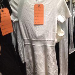 Theory tee-shirt dress (size 4), $79