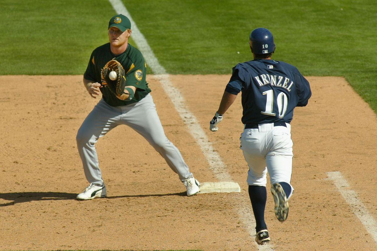 Oakland Athetics v Milwaukee Brewers