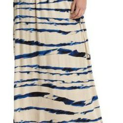 """<a href=""""http://www.loft.com/loft/product/product%3A282179/LOFT-great-gifts/Watercolor-Stripe-Maxi-Skirt/282179?colorExplode=false&skuId=11360407&catid=catl000017&productPageType=fullPriceProducts&defaultColor=1343""""> LOFT watercolor striped skirt</a>, $59"""