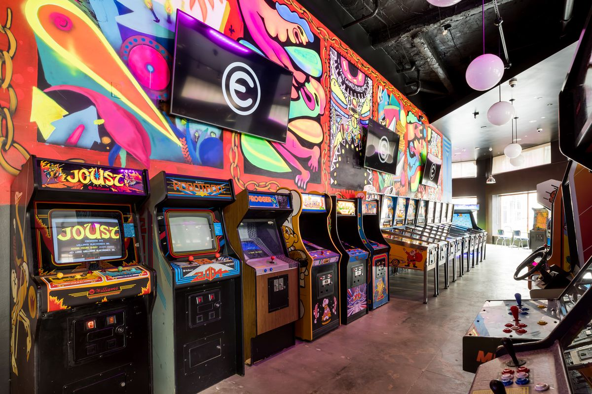 Emporium Opens with Arcade Games and Drinks in Uptown