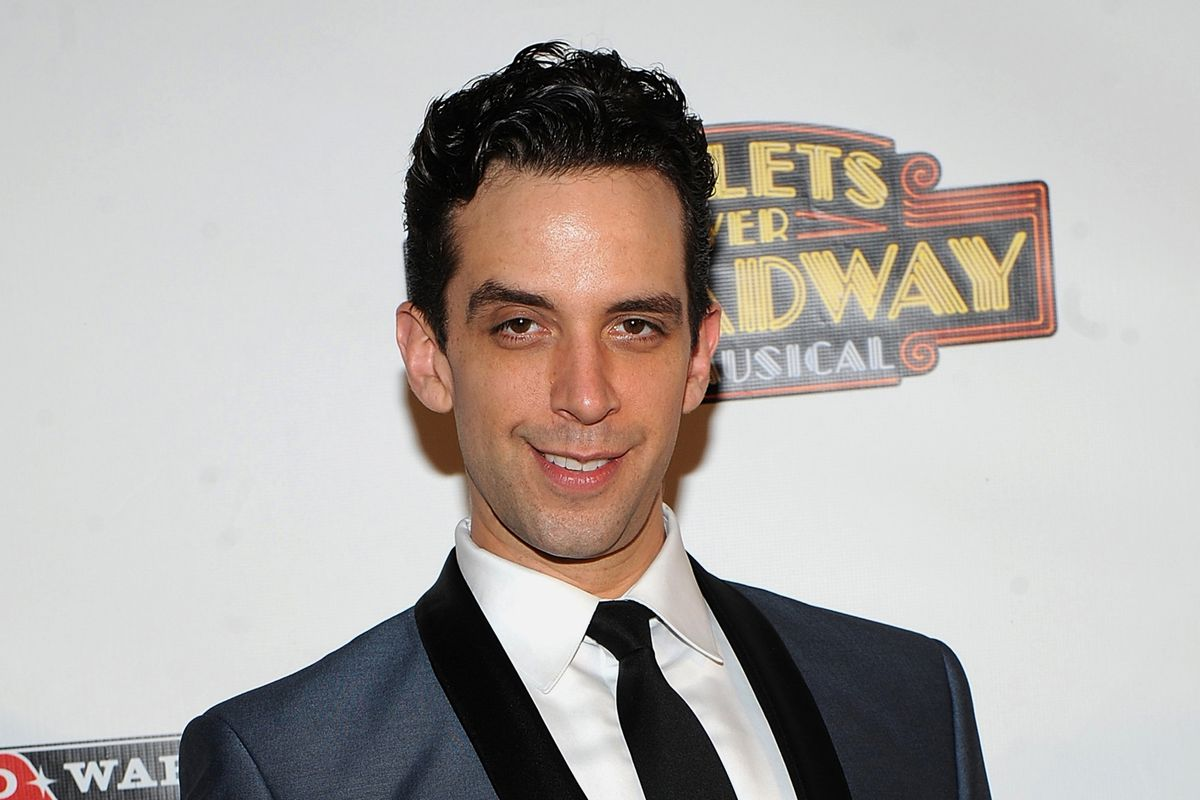 """Actor Nick Cordero attends the after party for the opening night of """"Bullets Over Broadway"""" in New York in 2014."""