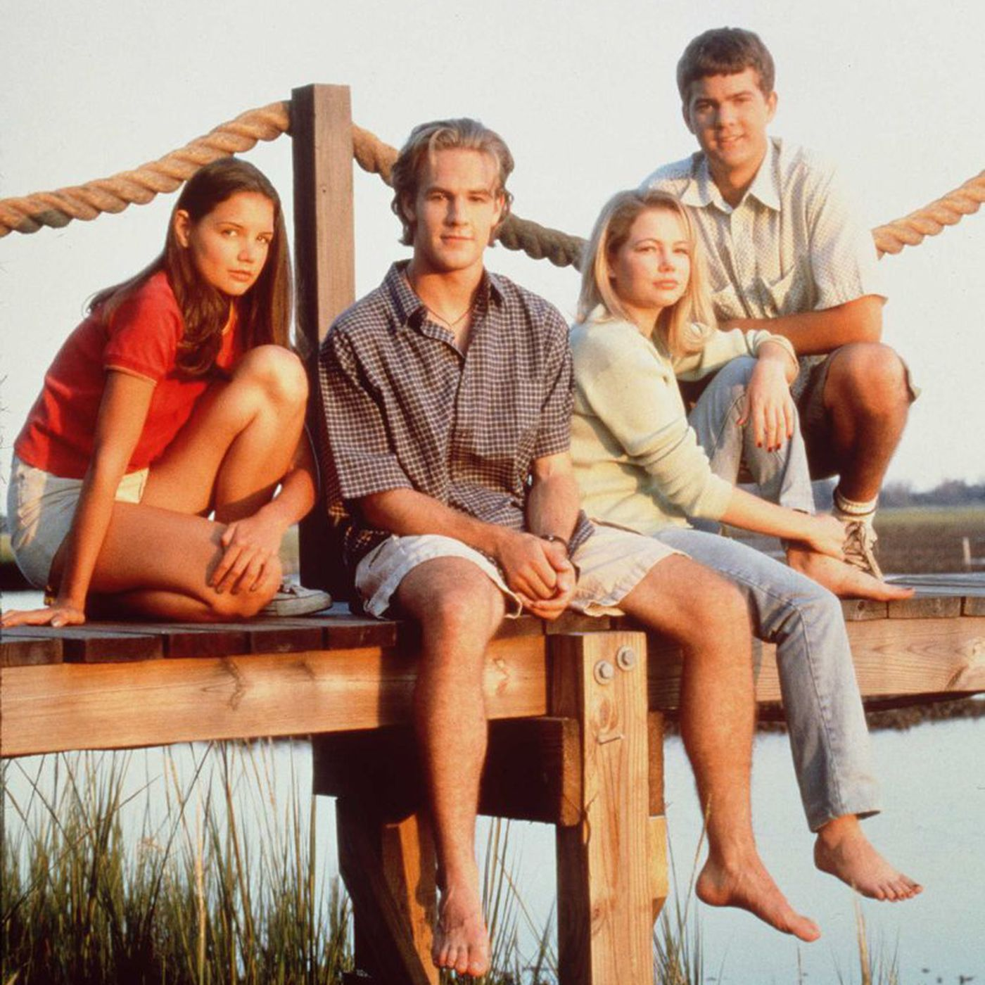 20 years ago, Dawson's Creek introduced a love triangle that changed