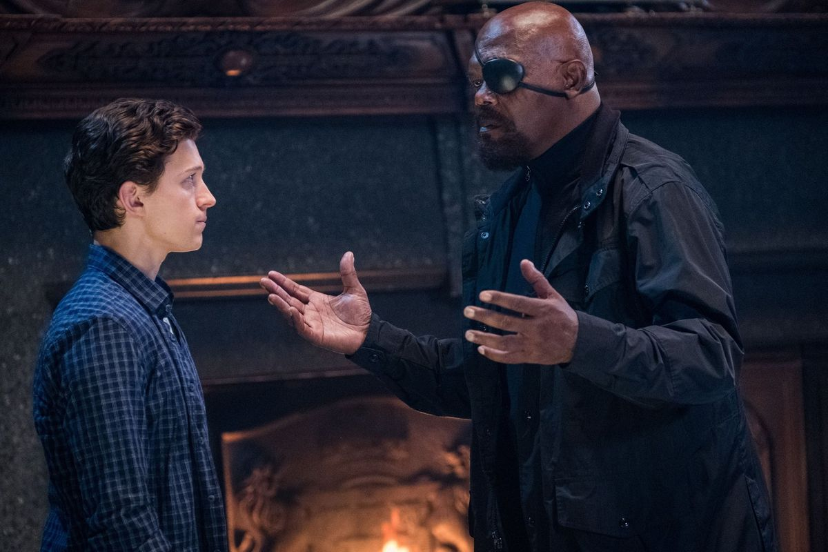 spider-man: far from home - nick fury