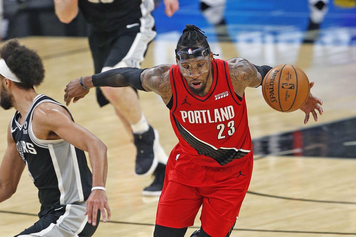 Portland Trailblazers v San Antonio Spurs