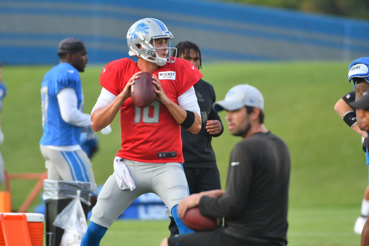 NFL: AUG 17 Detriot Lions Training Camp