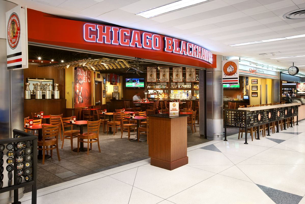Stanley S Blackhawks Bar O Hare