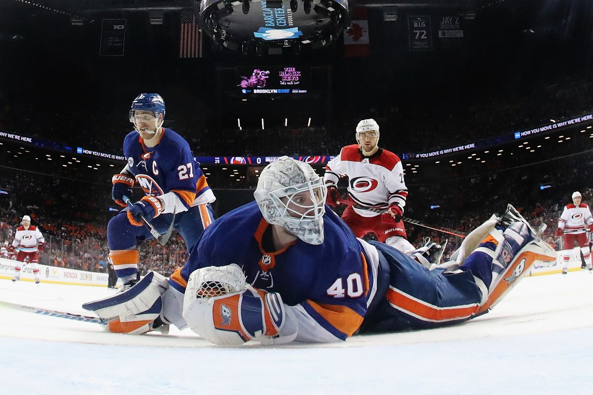 99d11f319 Carolina Hurricanes 1, New York Islanders 0 (OT): Staal ends goalie duel in  Game 1