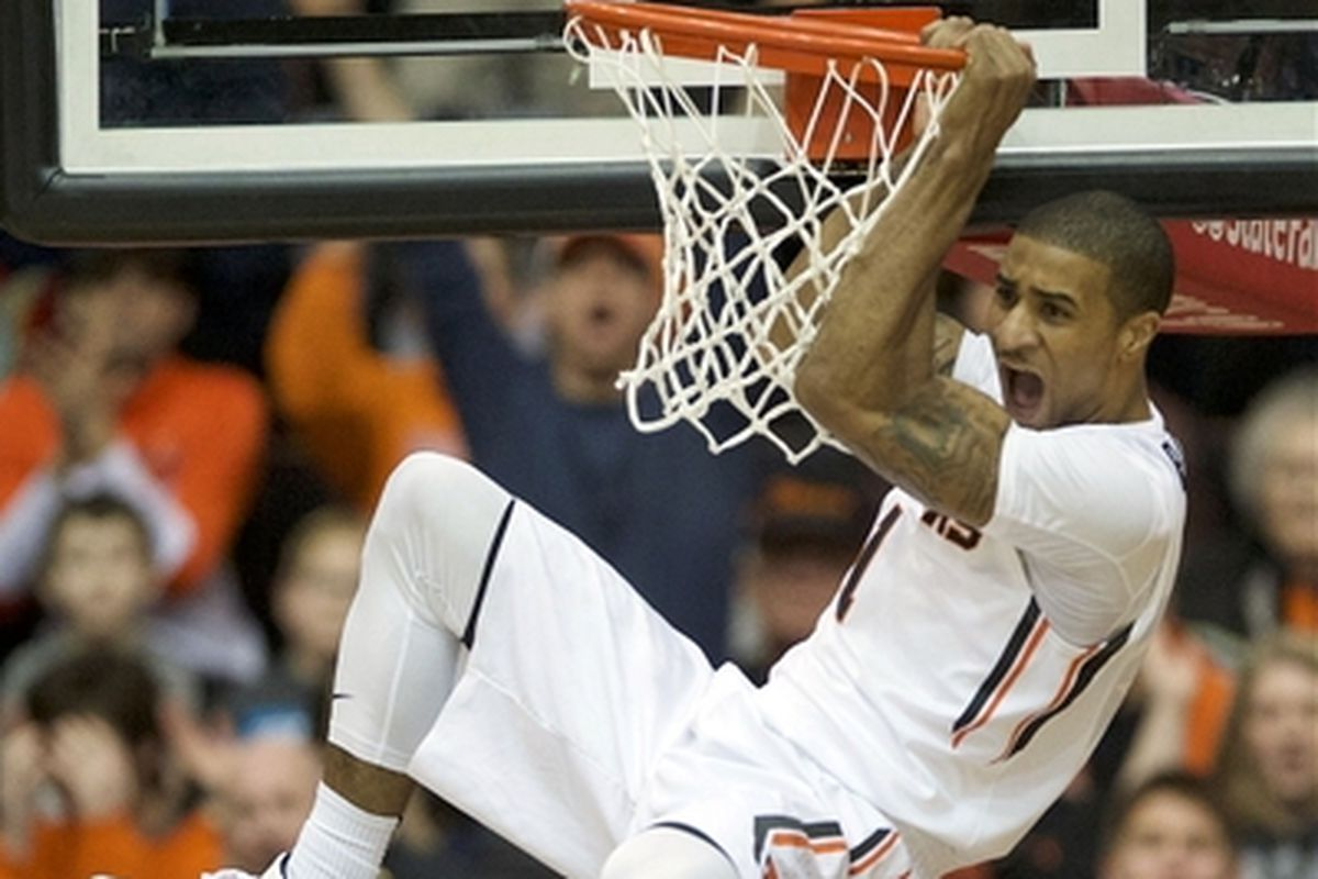 Oregon State and Gary Payton II hope to rock the rim again tonight in the desert.