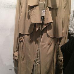 Carven trench coat, $298