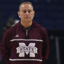 Mississippi State coach Vic Schaefer