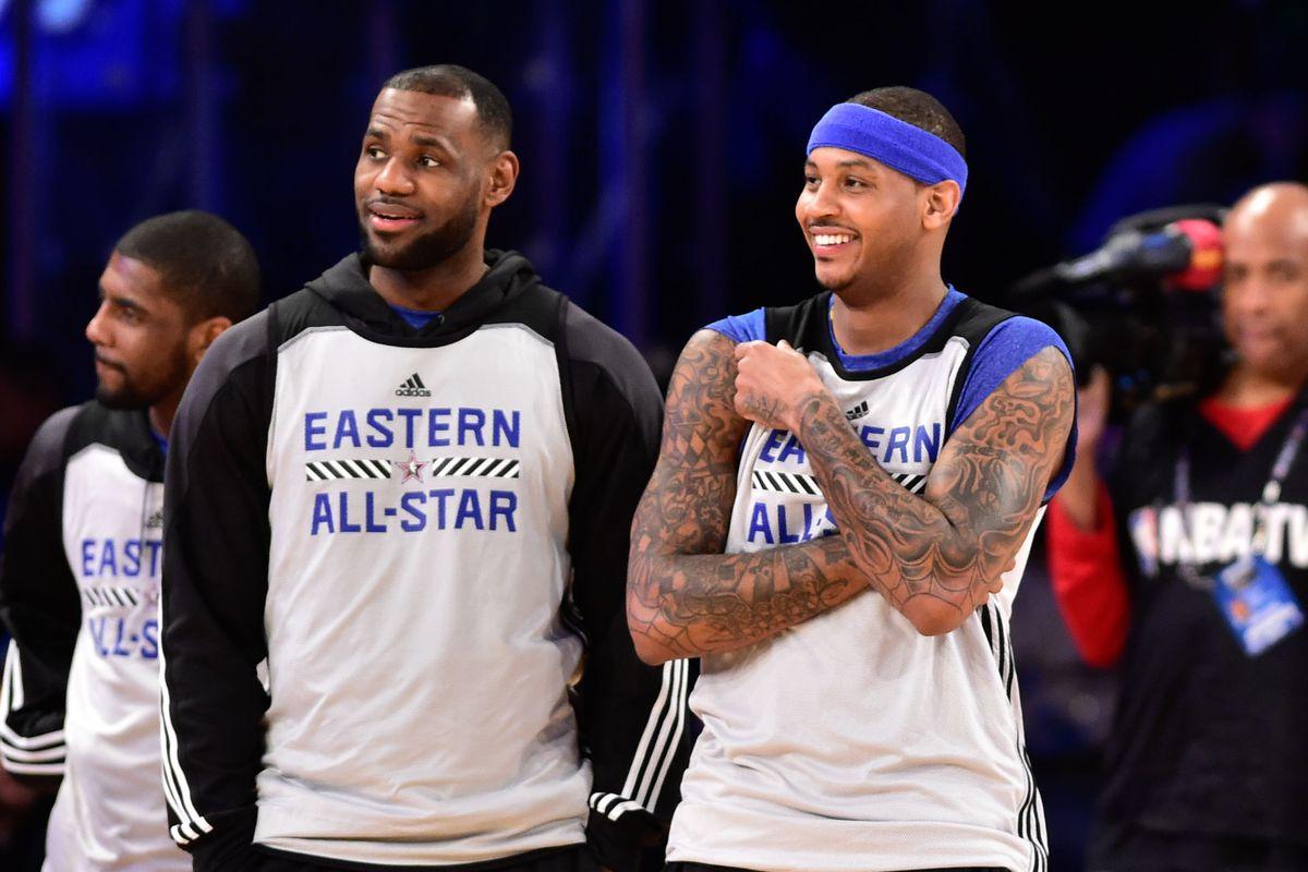 真兄弟!當全聯盟都等著看甜瓜笑話時,詹皇終於決定站出來幫了他一把!-Haters-黑特籃球NBA新聞影音圖片分享社區