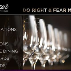 """<b>Del Frisco's Double Eagle Steakhouse</b>: The Del Frisco's team got J.R.R. Tolkein to write their slogan for them. [<a href=""""http://www.delfriscos.com/"""" rel=""""nofollow"""">Link</a>]<br />"""