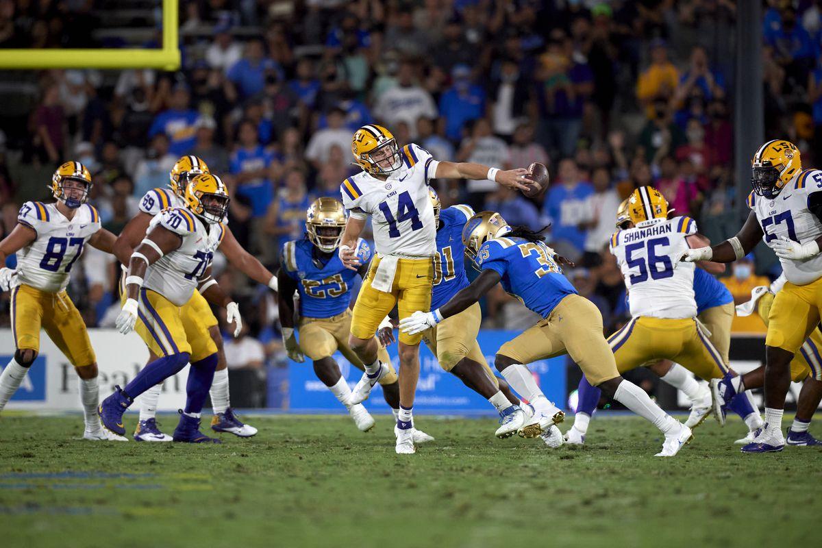 University of California Los Angeles vs Louisiana State University