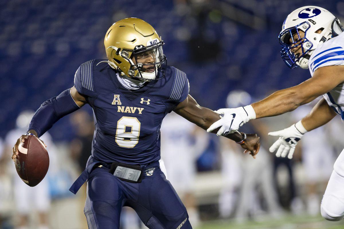 NCAA Football: Brigham Young at Navy