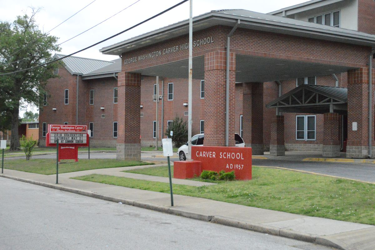 Carver High School served the Riverview neighborhood of South Memphis since 1957.