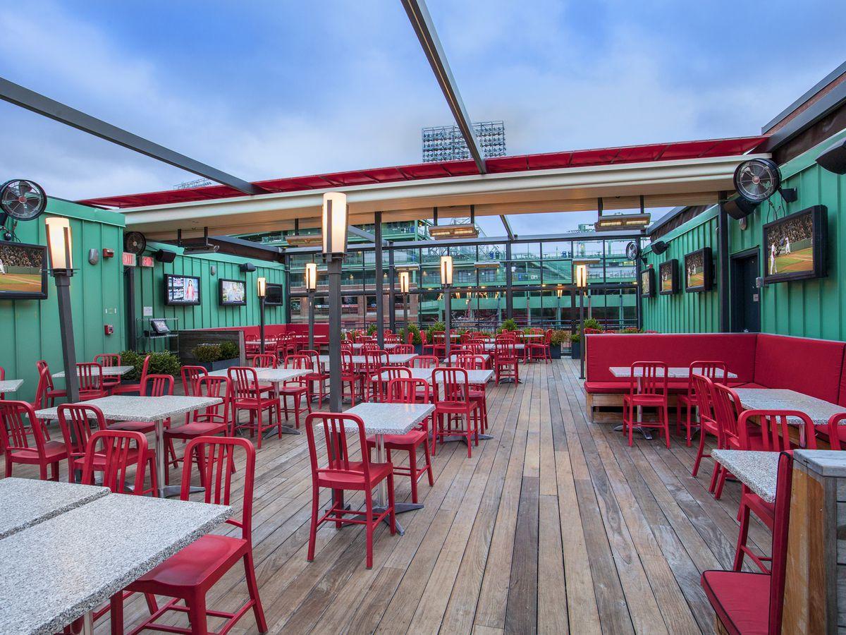 Tony C's roof deck