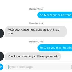 """McGregor via """"Alpha As F*ck"""""""