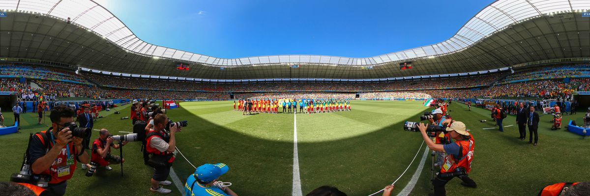 A 360-degree image from last year's World Cup.