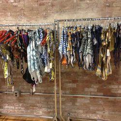 Swimwear racks with pieces in the $30 range