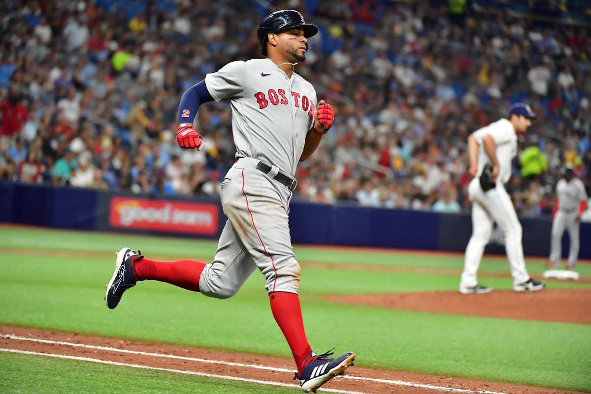 Division Series - Boston Red Sox v Tampa Bay Rays - Game One