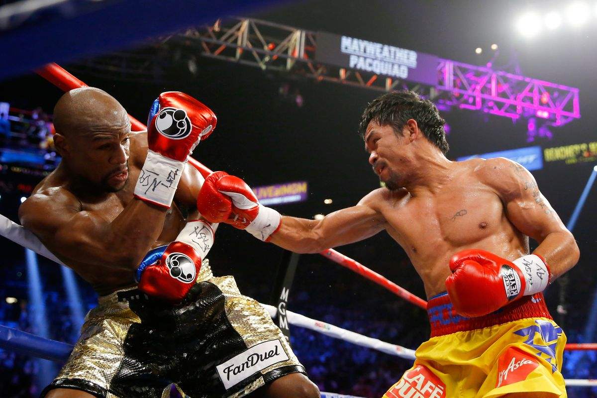 Will Manny Pacquiao Rematch Floyd Mayweather After Win Over Adrien Broner Sbnation Com