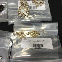 Alexis Bittar earrings, $56 (was $245)