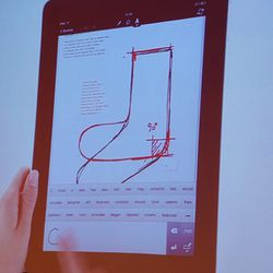 A video demonstration of MUJI's new $3.99 Notebook iPad app