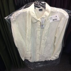 Button down, size 8, $89  (was $245)