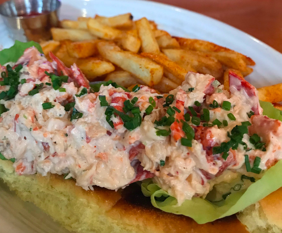 Lobster roll at Red Rooster