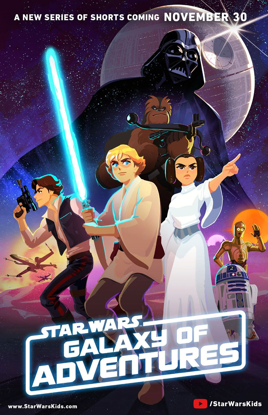 Disney Is Turning The Original Star Wars Movies Into Animated Shorts For Children The Verge