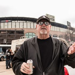 """Barry Hodnik, a retired cop, has been coming to White Sox games for 30 years. """"What's not to love?"""" 