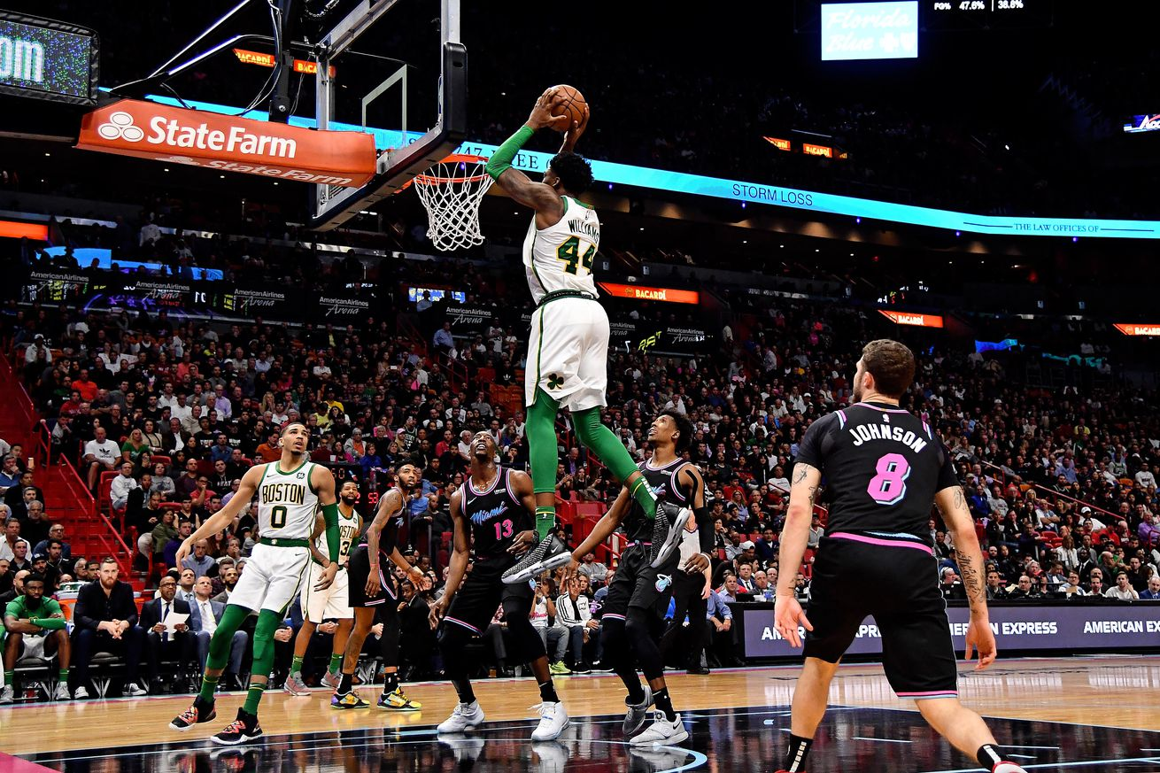 Can the Celtics' young centers turn Boston into Lob City?
