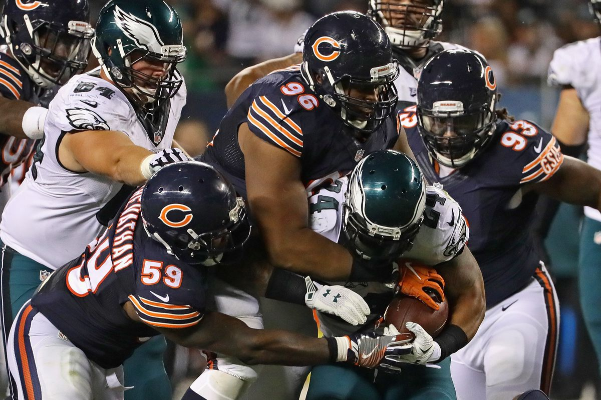 98d4b88a NFL Wildcard Round: Bears will host the Eagles on Sunday at 3:40 pm ...
