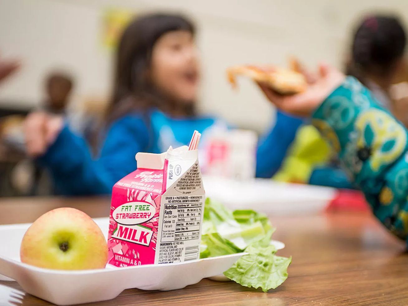 The Trump administration is rolling back key parts of the Healthy, Hunger-Free Kids Act of 2010.