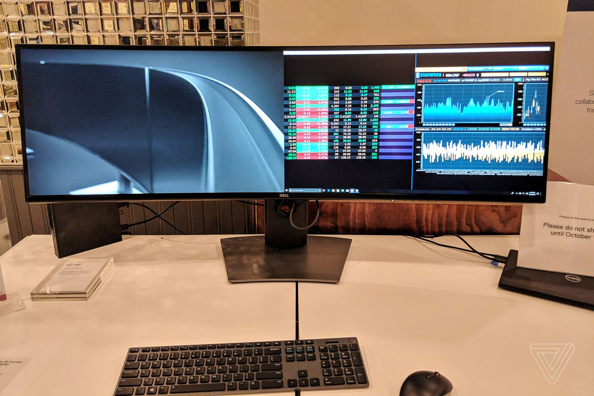 Dell unveils the first 49-inch ultra-wide monitor with QHD