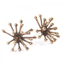 """<strong>Mikinora</strong> Jacks Earrings at <strong>Wicked Peacock</strong>, <a href=""""http://wickedpeacock.com/index.php/shop/jewelry-1/earrings/jacks-earrings.html#"""">$62</a>"""