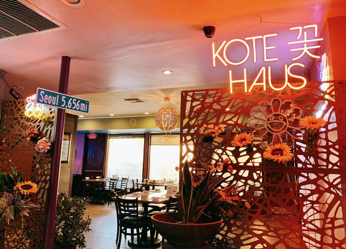 Kote Haus serves a slate of Koreanized tapas, bar foods, and booze