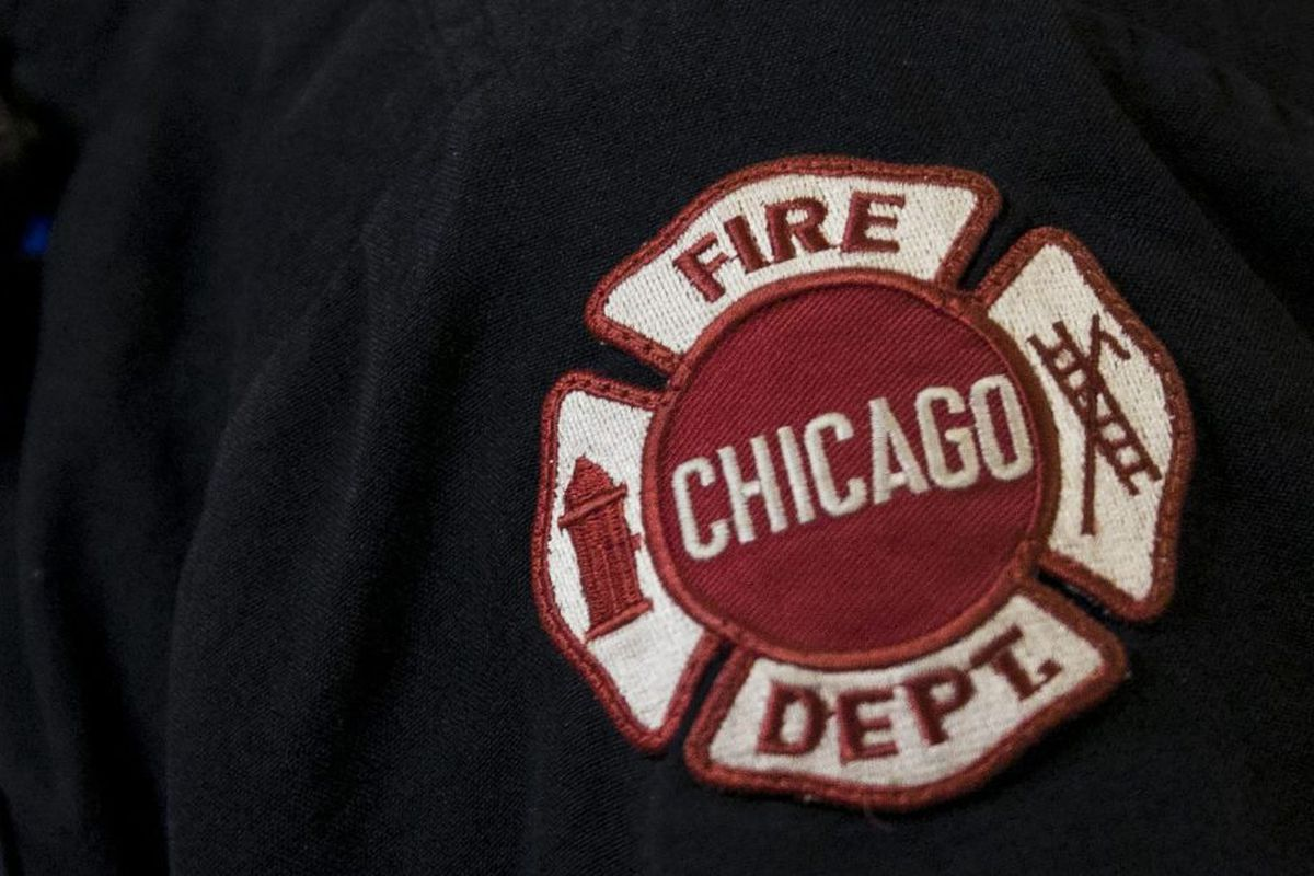 A fire was extinguished at a Starbucks in the West Loop on Oct. 10, 2019.