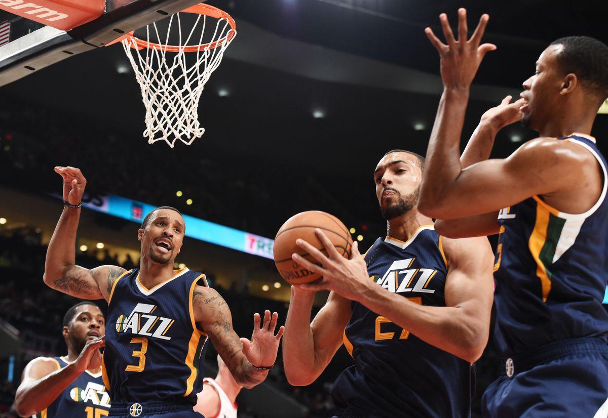 NBA: Preseason-Utah Jazz at Portland Trail Blazers