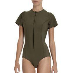 "<strong>Lisa Marie Fernandez</strong> Farrah Swimsuit, <a href=""http://www.barneys.com/Lisa-Marie-Fernandez-Farrah-Swimsuit/502529516,default,pd.html?cgid=womens-swimwear&index=6"">$385</a> at Barneys"